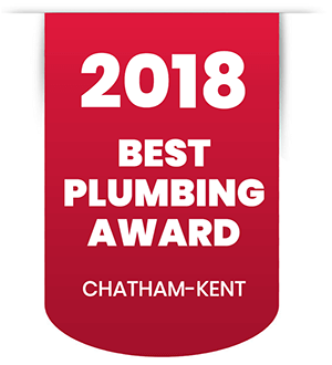 2018 Best Plumbing Award in Chatham-Kent